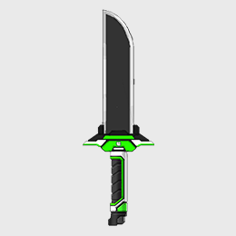 Concept art design for a sword.